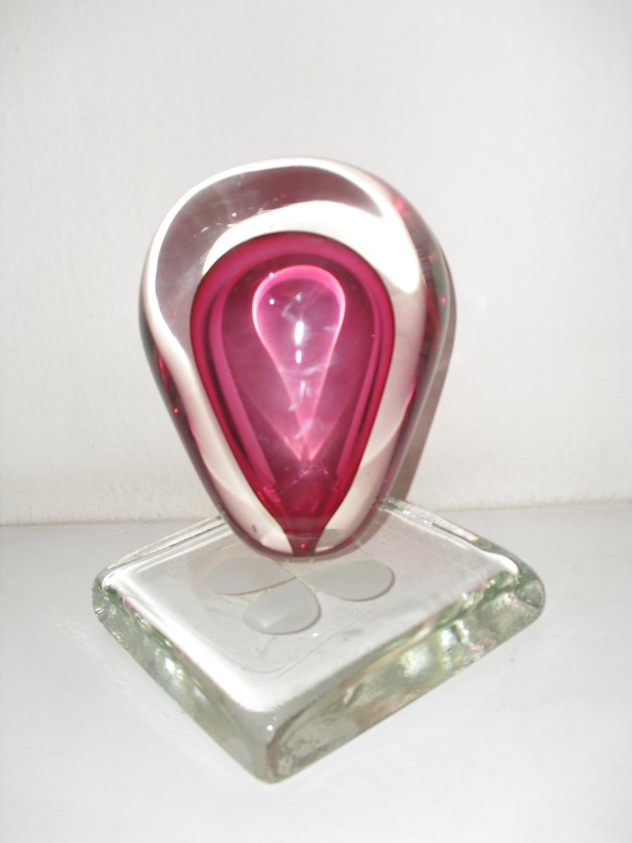 trofeu de vidro