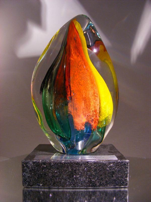 Troféu de cristal Câmara Brasil-Alemanha