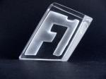Troféu em cristal para a Fórmula 1