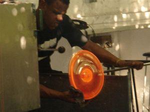 Profissão: vidreiro