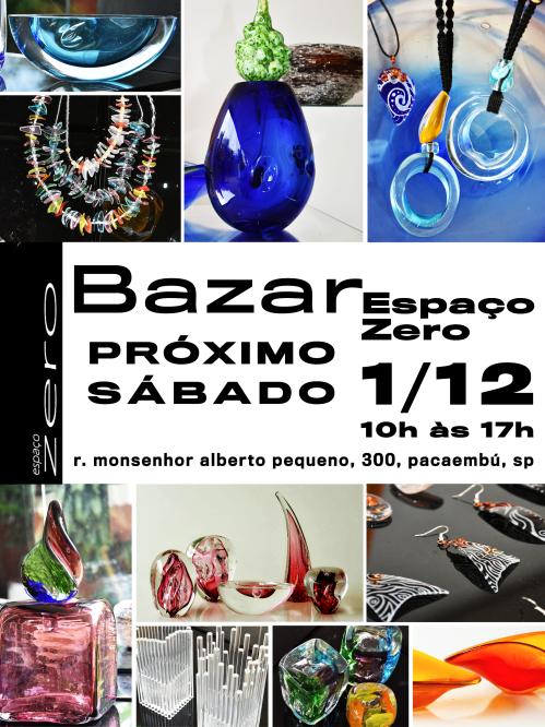 Espaço Zero - Convite para o Bazar 2018